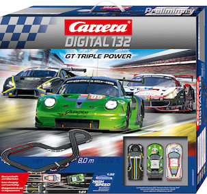 30007 Carrera Digital 132 GT Triple Power