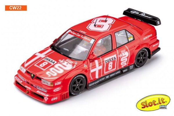 SICW22 Slot.it Alfa Romeo 155 V6 TI No.8 DTM Winner 1993