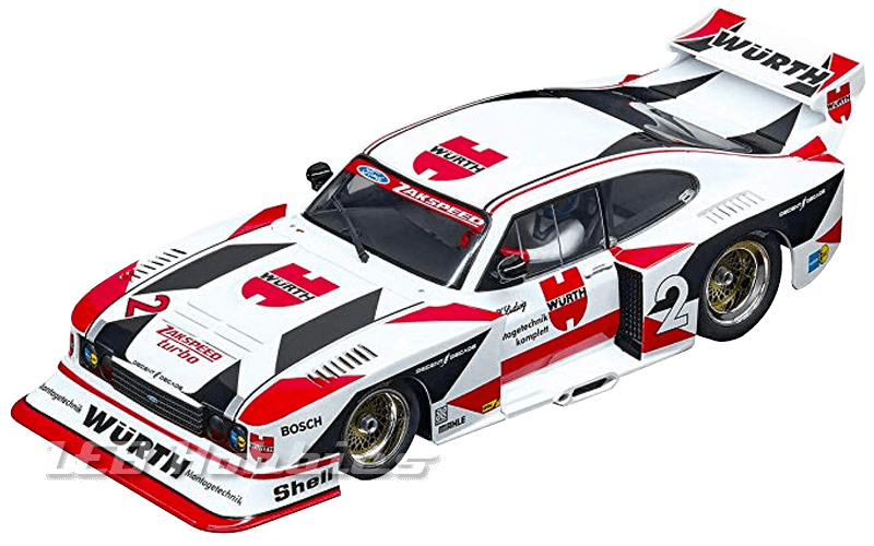 23858 Carrera D124 Ford Capri Zakspeed Turbo Würth-Zakspeed No.2