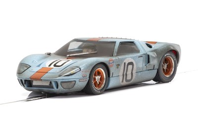 C4105 Scalextric Ford GT40 Gulf, No.10 - Weathered Special