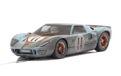 C4106 Scalextric Ford GT40 Gulf, No.11 - Weathered Special