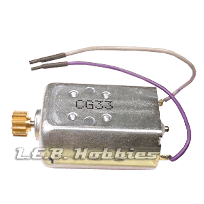 83002 Carrera Exclusiv Tuning Motor for Axle Z48, 18000 rpm @18v