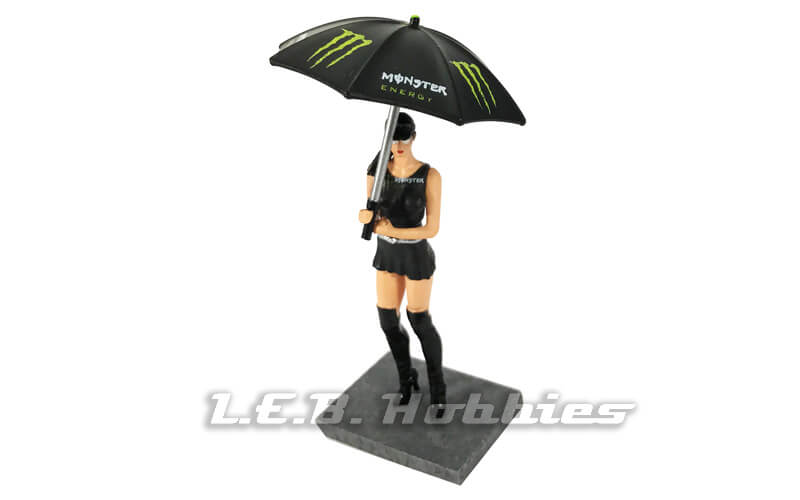 SWFIG/012 Racer Sideways Monster Grid Girl with Umbrella, Laly
