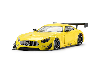 NSR0093AW NSR Mercedes-AMG GT3 Test Car, Yellow