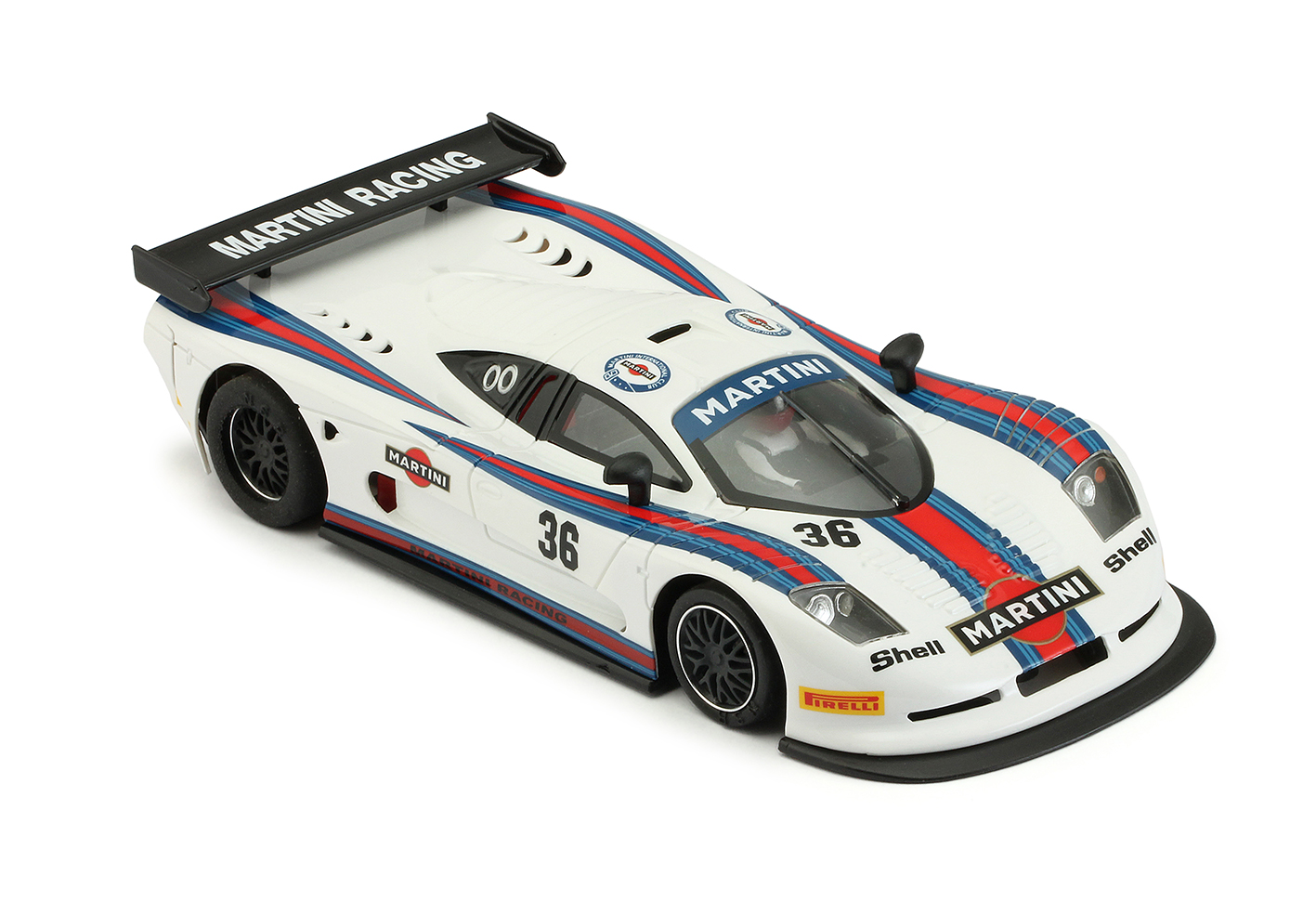 NSR 0150AW Mosler MT900R EVO5 Martini Racing White, No.36