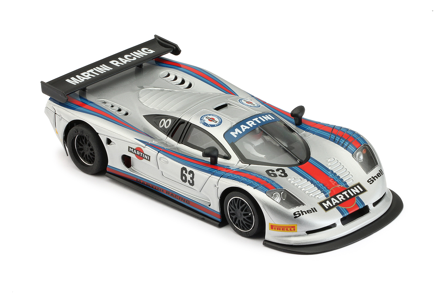NSR 0152SW Mosler MT900R EVO5 Martini Racing Grey, No.63