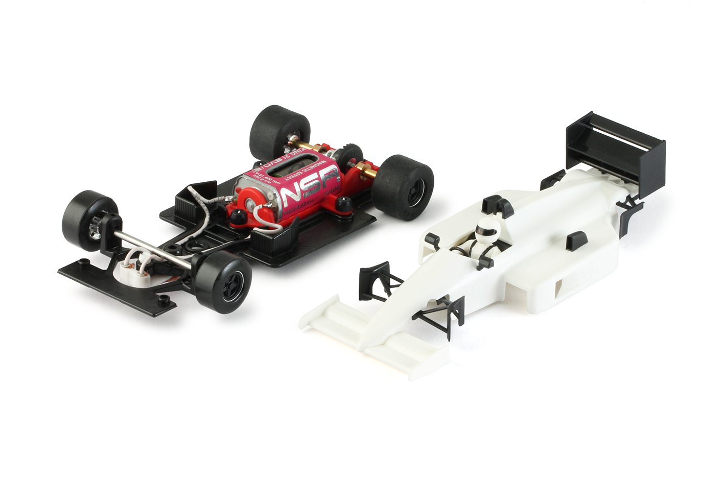 NSR 0162IL NSR Formula 86/89 White Kit King EVO3 21K