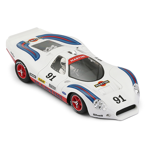 NSR 0191SW Ford P68 Allan Mann Martini Racing White, No.91