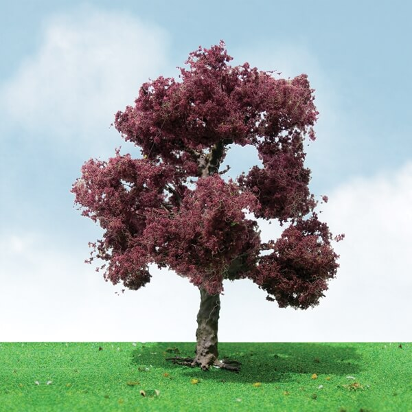 "JTT 92305 Copper Beech Tree HO-Scale 3""-3.5"" Pro-Elite, 2/pk"