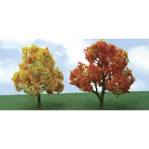 "JTT 92319 Autumn Deciduous HO-Scale 3""-3.5"" Pro-Elite, 2/pk"