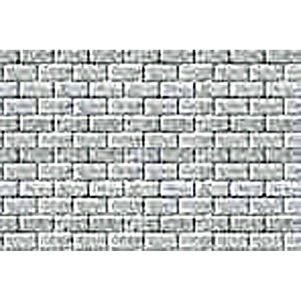 JTT 97463 1:125 TT-Scale Concrete Block Pattern Sheet, 2/pk