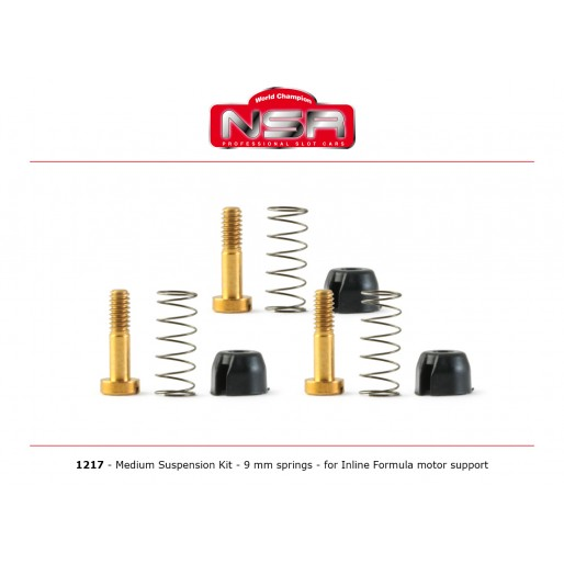 NSR1217 Medium Suspension Kit Inline NSR Formula Motor Support