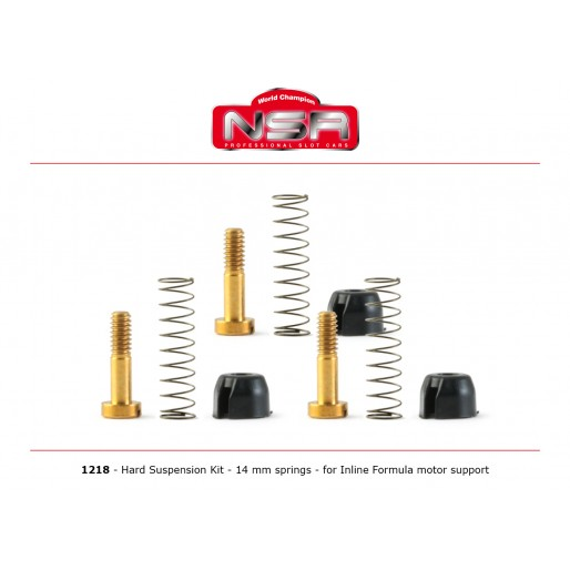 NSR1218 NSR Hard Suspension Kit Inline NSR Formula Motor Support
