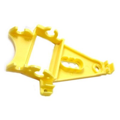 NSR 1255 Triangular Anglewinder Long Can Motor Mount ExLt Yellow
