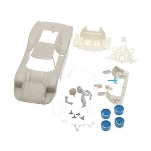 NSR1343 NSR Ford MKIV Body Kit, Clear