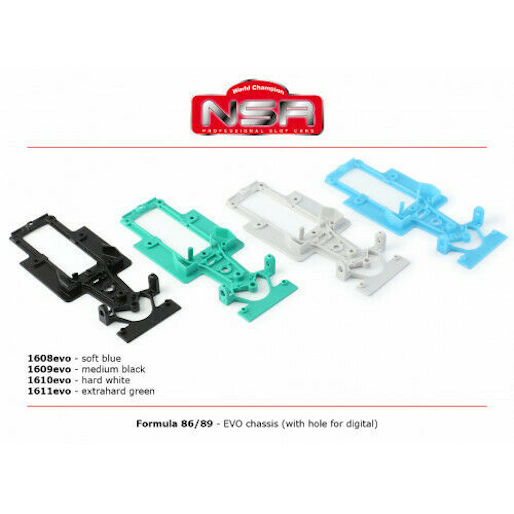 NSR1609 NSR Formula 86/89 Chassis Medium, Black