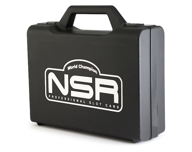 NSR1992 NSR Medium Carrying Case with Logo & Internal Sponge