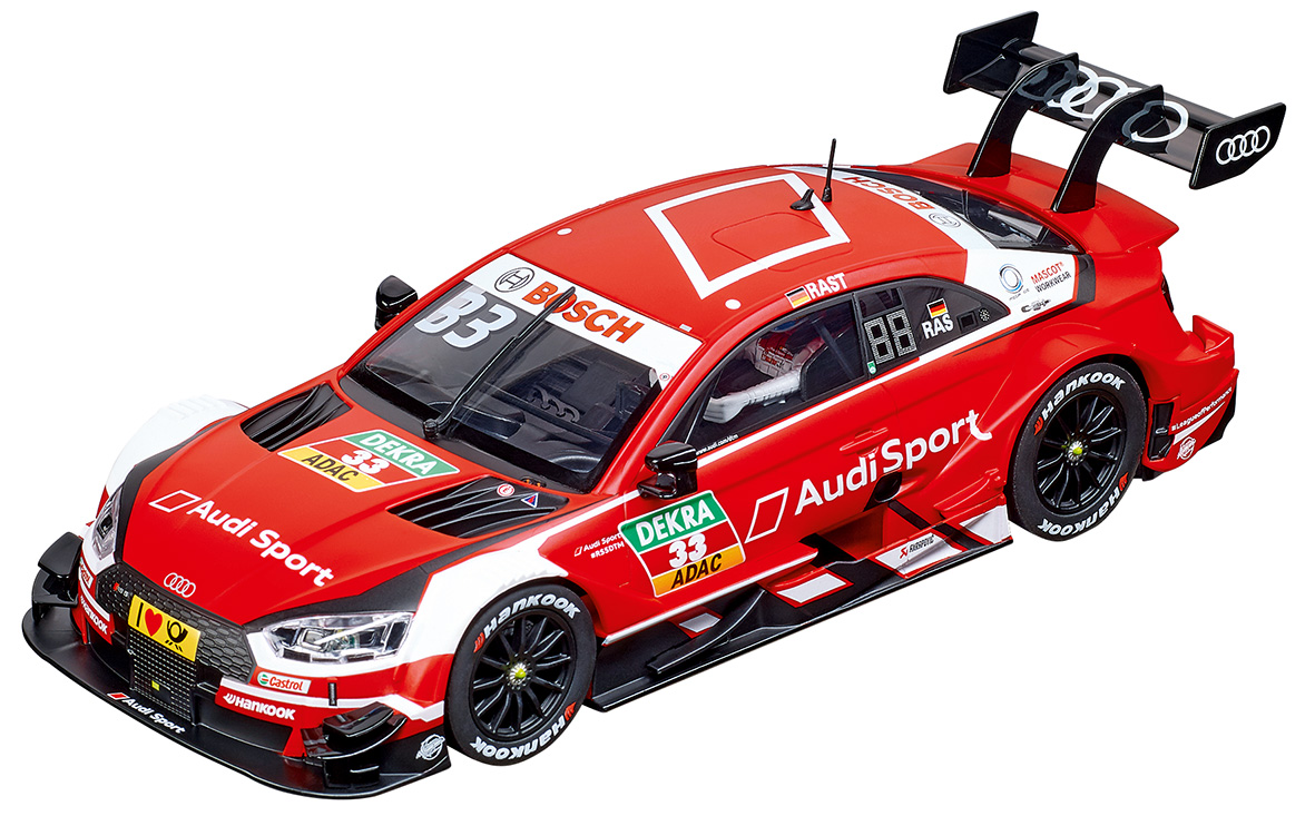23883 Carrera Digital 124 Audi RS 5 DTM, R. Rast, No.33, 2018