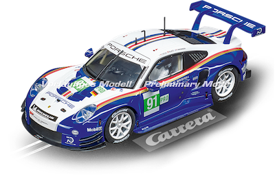 23885 Carrera Digital 124 Porsche 911 RSR, No.91, 956 Design
