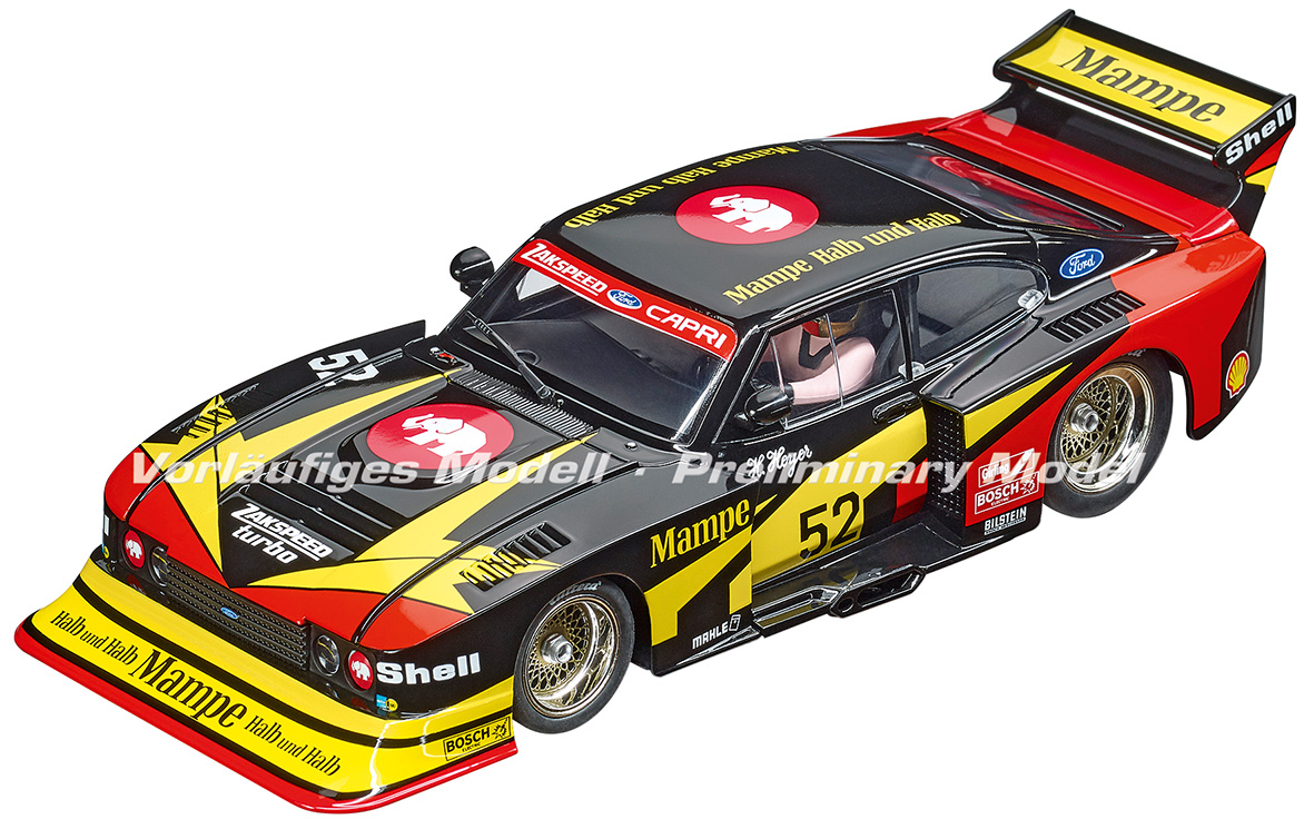 23895 Carrera Digital 124 Ford Capri Zakspeed Turbo, No.52