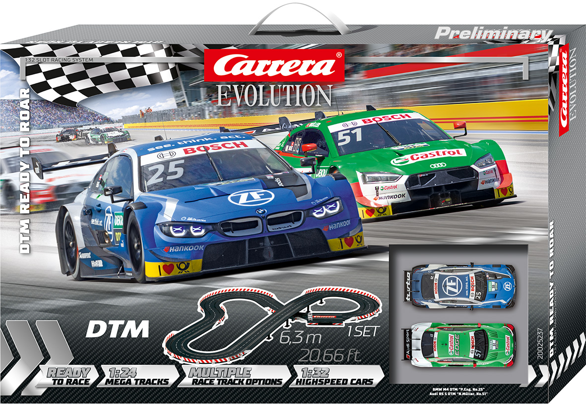 25237 Carrera Evolution DTM Ready To Roar