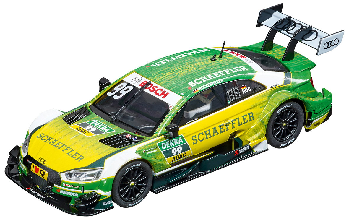 27572 Carrera Evolution Audi RS 5 DTM, Mike Rockenfeller, No.99