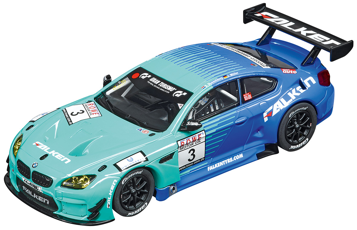 27576 Carrera Evolution BMW M6 GT3, Team Falken, No.3