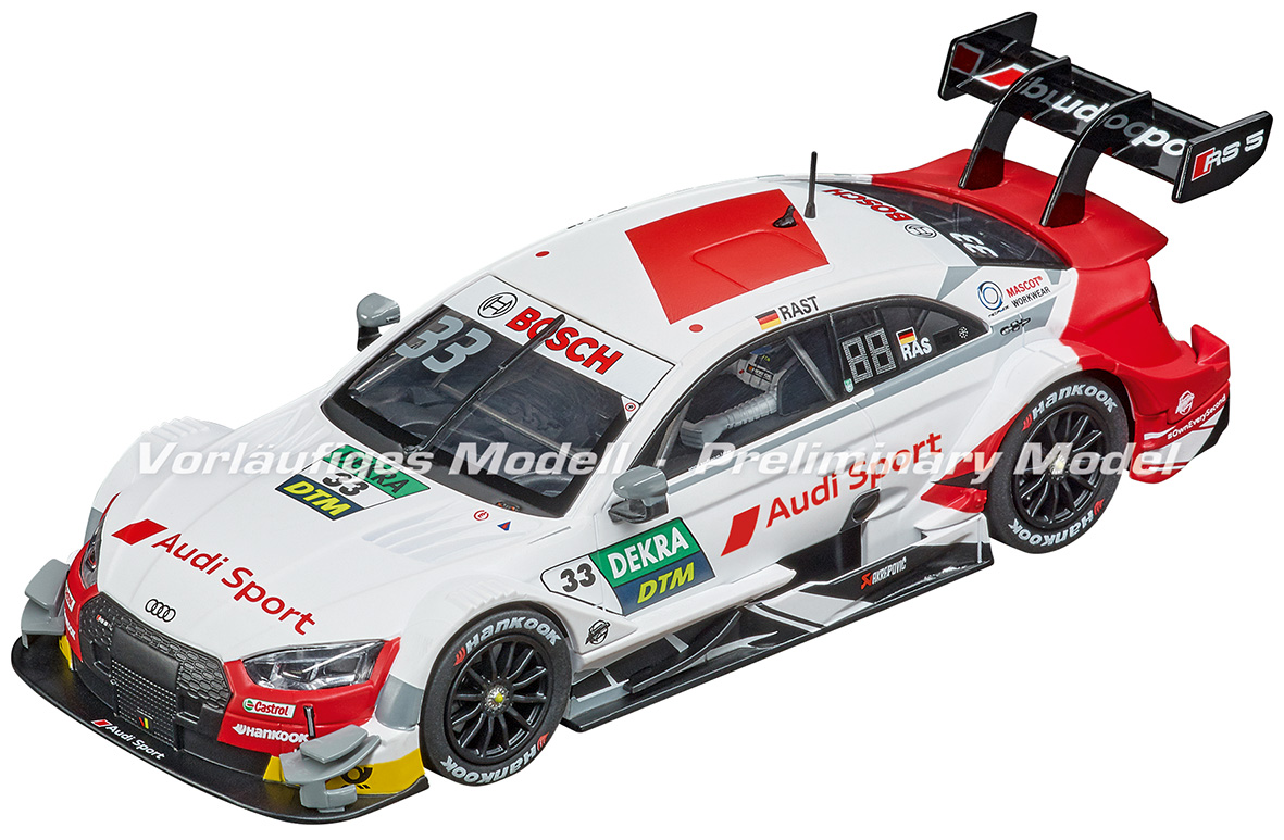 27634 Carrera Evolution Audi RS 5 DTM R.Rast, No.33