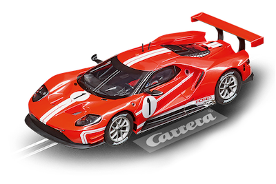 27596 Carrera Evolution Ford GT Race Car Time Twist, No.1