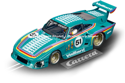 30898 Carrera Digital 132 Porsche Kremer 935 K3, Vaillant, No.51