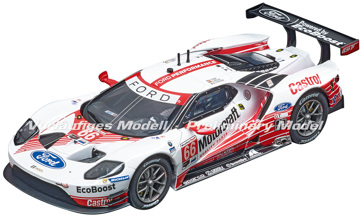 30913 Carrera Digital 132 Ford GT Race Car, No.66