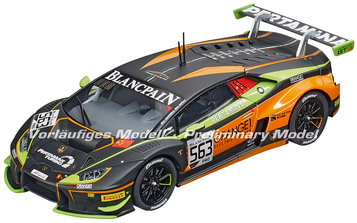 30914 Carrera D132 Lamborghini Huracán Orange1 FFF Racing Team