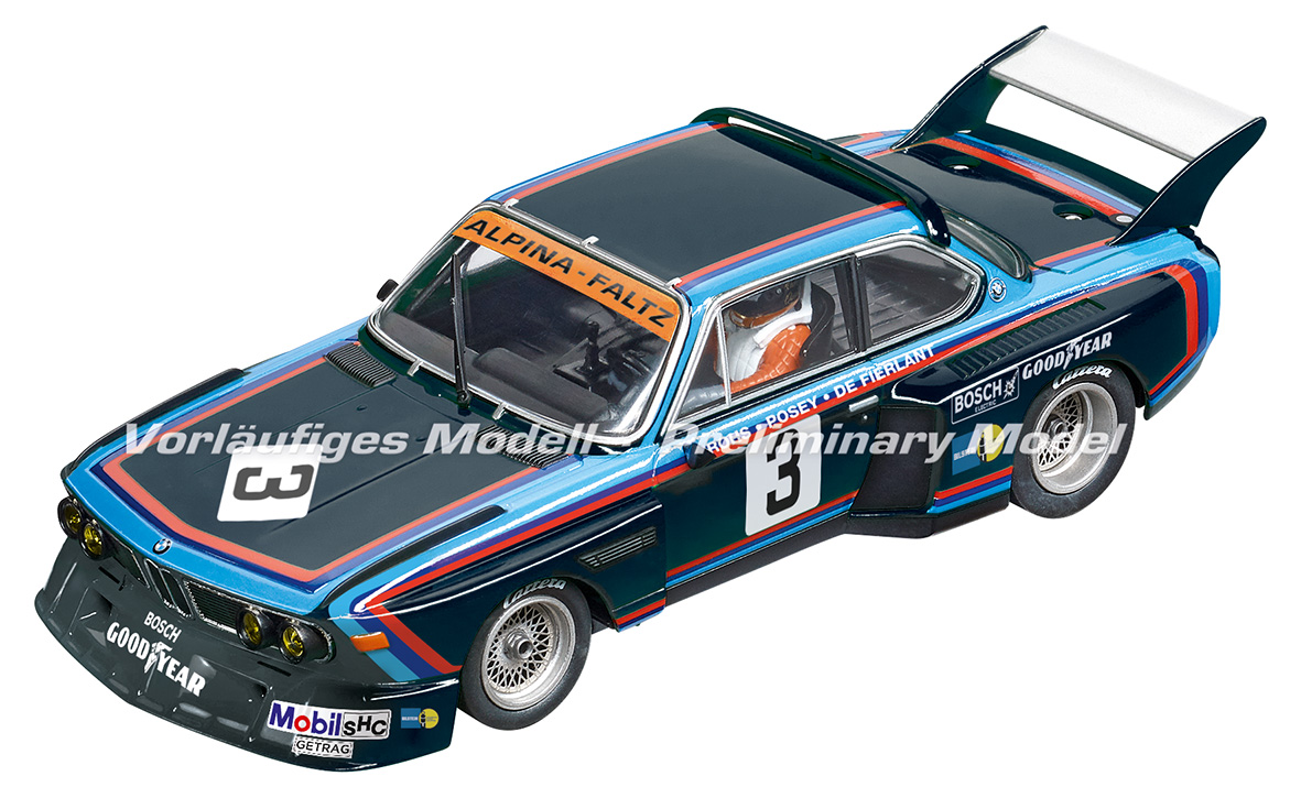 30923 Carrera Digital 132 BMW 3.5 CSL, No.3, 6h Silverstone 1976