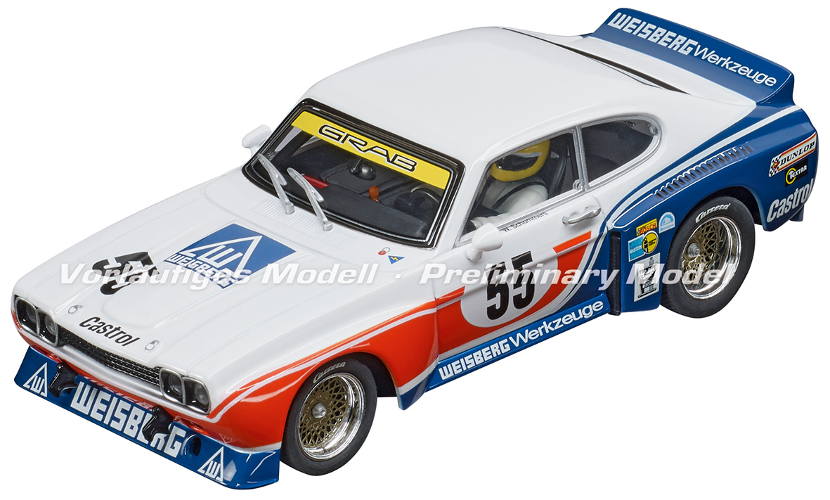 30927 Carrera Digital 132 Ford Capri RS 3100, No.55, DRM 1975