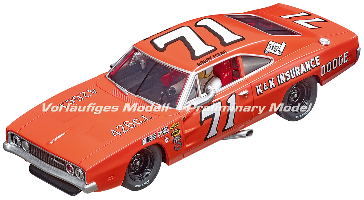Carrera 30942 Digital 132 Dodge Charger 500, No.71