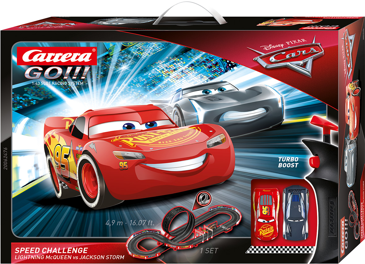 62476 Carrera GO!!! Disney/Pixar CARS - Speed Challenge