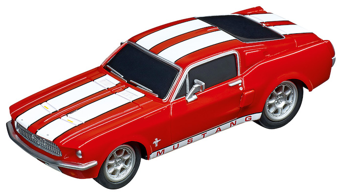 64120 Carrera GO!!! Ford Mustang '67 - Racing Red
