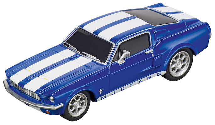 Carrera 64146 GO!!! Ford Mustang '67, Racing Blue