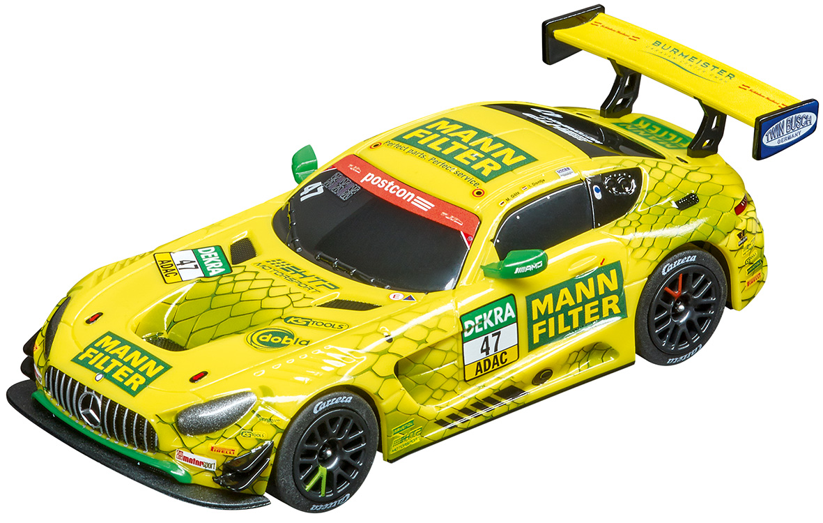 64169 Carrera GO!!! Mercedes-AMG GT3, MANN-FILTER Team HTP, No.4