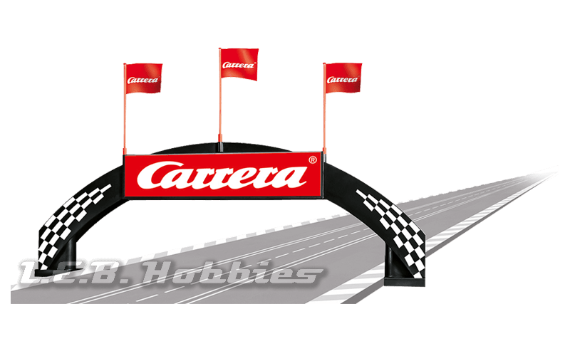 21126 Carrera Victory Arch Bridge with Carrera logo