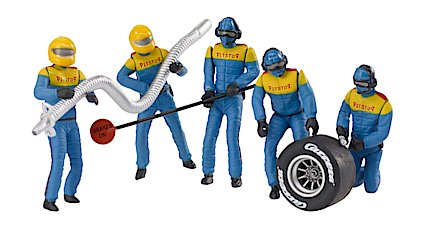 21132 Carrera Set of Mechanics Figures, Blue