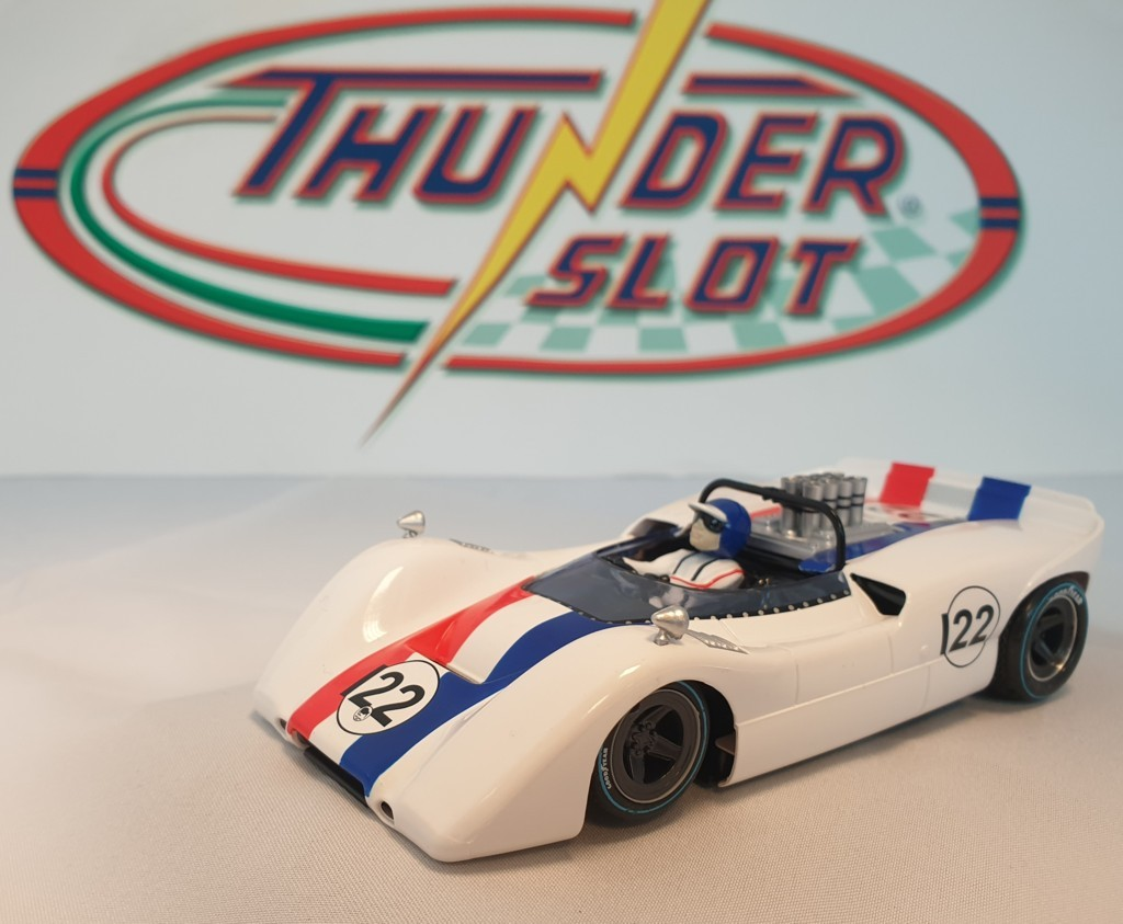 Thunder Slot CA00305S/W McLaren M6B No.22 Can-Am 1968