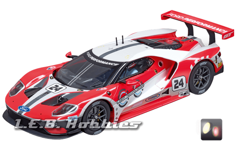 23841 Carrera Digital 124 Ford GT Race Car, No.24