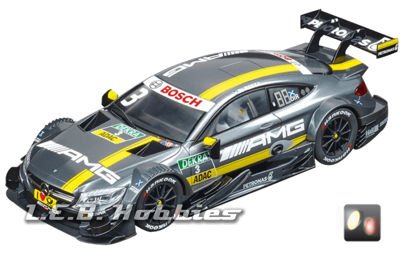 23845 Carrera D124 Mercedes-AMG C 63 DTM, Paul Di Resta, No.03