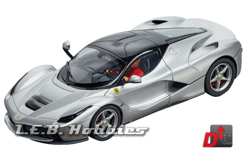 27515 Carrera Evolution LaFerrari Aluminum Finish