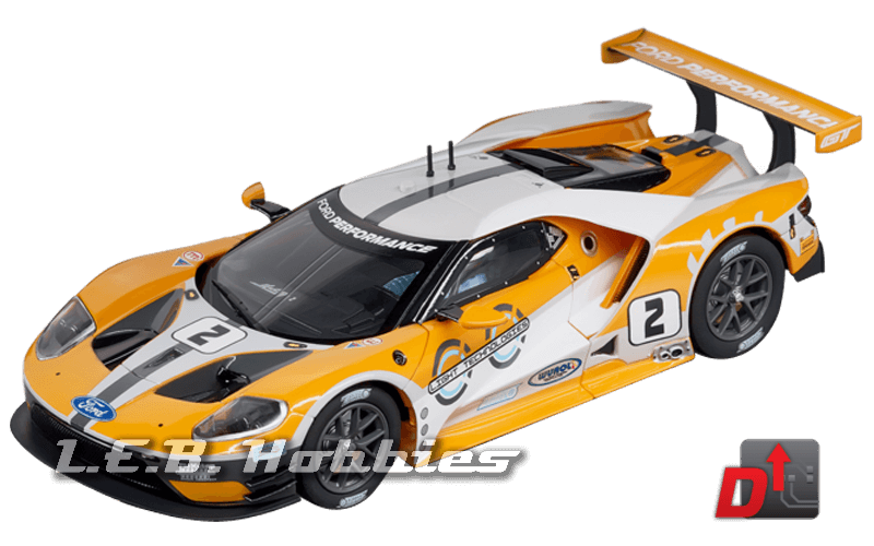 27547 Carrera Evolution Ford GT Race Car, No.02