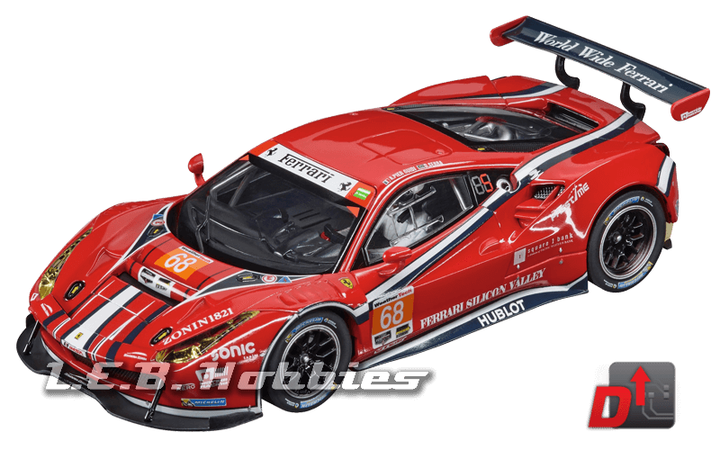 27558 Carrera Evolution Ferrari 488 GT3 Scuderia Corsa, No.68