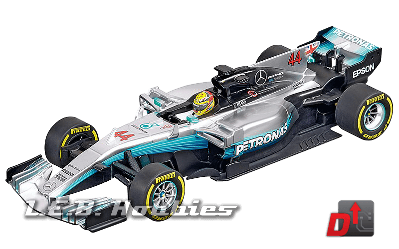 27574 Carrera Evolution Mercedes-Benz F1 WO8, Lewis Hamilton