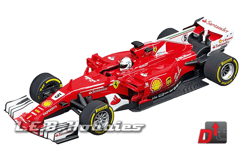 27575 Carrera Evolution Ferrari SF70H, Sebastian Vettel, No.5
