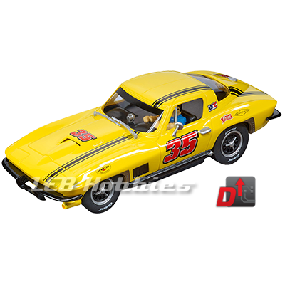 27615 Carrera Evolution Chevrolet Corvette Sting Ray, No.35